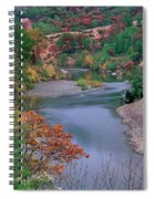 Stream And Fall Color In Central California Spiral Notebook