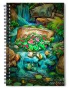 Stream In Ambiance Spiral Notebook