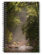 Stream Light Spiral Notebook