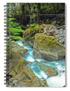 Stream Of Beauty Spiral Notebook