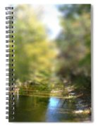 Stream Reflections Spiral Notebook
