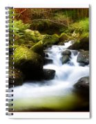 Stream Steps Spiral Notebook