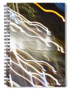 Streaming Abstract Spiral Notebook
