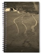Streams In The Lot Spiral Notebook