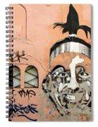 Street Art 1 Spiral Notebook