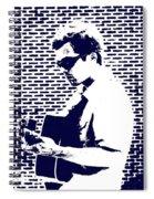 Street Blues Spiral Notebook