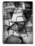 Street Cafe Spiral Notebook