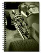 Street Chrome Spiral Notebook