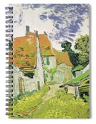 Street In Auvers Sur Oise Spiral Notebook