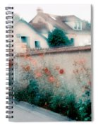Street In Giverny, France Spiral Notebook