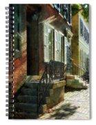 Street In New Castle Delaware Spiral Notebook