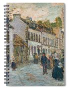 Street In Pont Aven Spiral Notebook