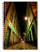 Street In Ponta Delgada Spiral Notebook