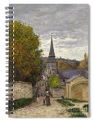 Street In Sainte Adresse Spiral Notebook