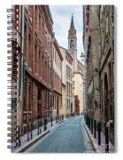 Street In Toulouse Spiral Notebook