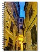 Street In Vernazza Spiral Notebook