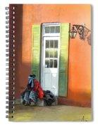 Street Life In Memphis Spiral Notebook