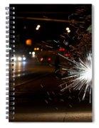 Street Lights Spiral Notebook