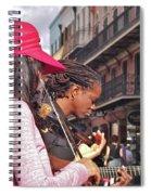 Street Musicians Spiral Notebook