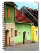 Street Of Wine Cellar Houses  Spiral Notebook