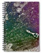Street Painter Spiral Notebook
