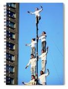 Street Performers 14 Spiral Notebook