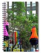 Street Performers 2 Spiral Notebook