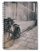 Street Photo Bicycle Spiral Notebook
