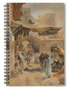 Street Scene In Jaffa Spiral Notebook