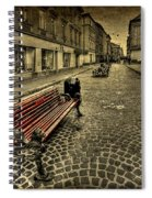 Street Seat Spiral Notebook