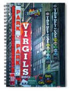 Street Signs Of New York Spiral Notebook