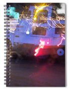 Street Sweeper Spiral Notebook