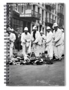 Street Sweepers, 1911 Spiral Notebook