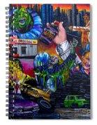 Street Trash Spiral Notebook