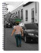 Street Vendor  Spiral Notebook