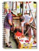 Street Vendors 1 Spiral Notebook