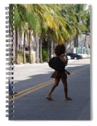 Street Walkers Spiral Notebook