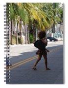 Street Walkers Spiral Notebook