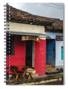 Streets Of Ataco 2 Spiral Notebook