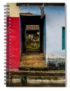 Streets Of Ataco 3 Spiral Notebook