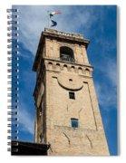 Streets Of Cesena 8 Spiral Notebook