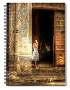 Streets Of Cuba Spiral Notebook