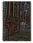 Streets Of Fairmont Spiral Notebook