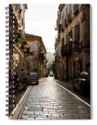 Streets Of Italy - Citta Sant Angelo 2 Spiral Notebook