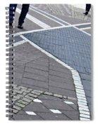 Streets Of Mainz 2 Spiral Notebook