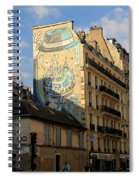 Streets Of Paris 6 Spiral Notebook