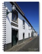 Streets Of Ribeira Grande Spiral Notebook