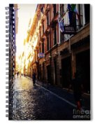 Streets Of Rome 2 Spiral Notebook