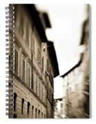 Streets Of Siena 2 Spiral Notebook