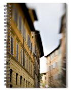 Streets Of Siena Spiral Notebook